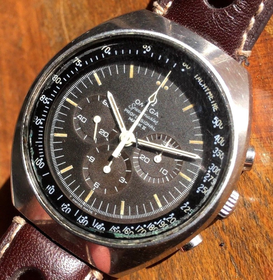 f352105301175 Omega Vintage Omega Speedmaster Mark 2 Chocolate Tropical Dial... for NZ   3