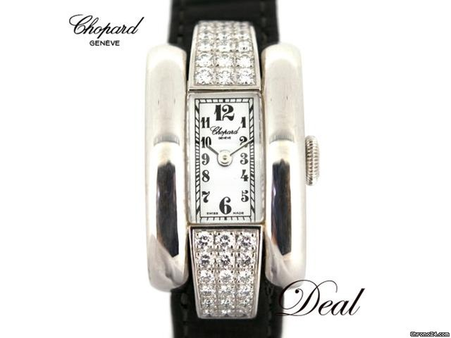 reputable site f9e2b ff290 Chopard ショパール ラ・ストラーダ 41/6619-8 ラグダイヤ レディース 腕時計