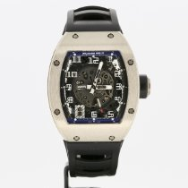 Richard Mille RM 010 usados 48mm Oro blanco