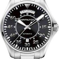 Hamilton H64615135 Acier 2020 Khaki Pilot Day Date 42mm nouveau