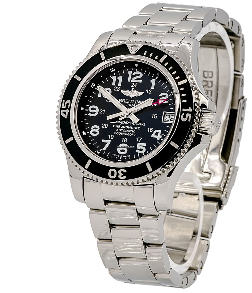buy online 7401f 97720 Breitling Superocean II 36 mm A17312C9/BD91