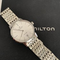 Hamilton Intra-Matic Steel 38mm Silver No numerals United States of America, California, Los Angeles