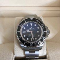Rolex Sea-Dweller Deepsea Aço 44mm Preto Sem números
