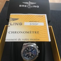 Breitling Skyracer Steel 43,5mm Silver Roman numerals