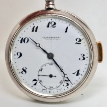 Eberhard & Co. Watch pre-owned 1920 Silver 52mm Manual winding Watch only