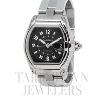 Cartier Roadster Steel 43mm Black Arabic numerals United States of America, New York, Hartsdale