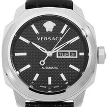 Versace Steel 42mm Automatic VQI010015 pre-owned