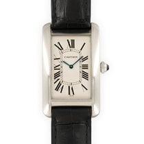 Cartier Tank Américaine Platinum 26mm Silver United States of America, California, Beverly Hills