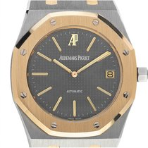 Audemars Piguet Royal Oak Jumbo Gold/Stahl 39mm Grau
