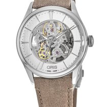 Oris Artelier Skeleton Steel Silver No numerals United States of America, New York, Brooklyn