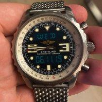 Breitling Chronospace Acier 48mm Bleu Arabes