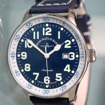 Zeno-Watch Basel Steel 44mm Automatic P554-a2, Zeno-Watch Basel, X Large Pilot new