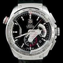 TAG Heuer Chronographe 43mm Remontage automatique 2015 occasion Grand Carrera Noir