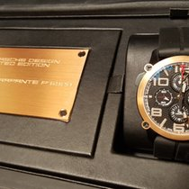 Porsche Design Indicator Aur roz 45mm Negru