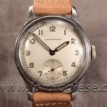 Longines Tre Tacche Military-style Step-case Original Dial...