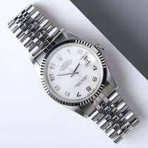 Rolex Datejust 36 Creamy Marble Dial
