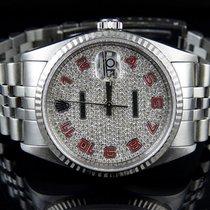 Rolex Mens 18k/Stainless Steel Rolex Datejust Jubilee 36 MM...