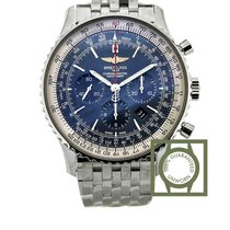 Breitling Navitimer 01 (46 mm) Blue Dial Full Steel