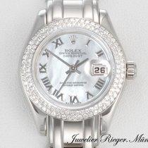 Rolex Datejust Pearlmaster 80339 Weissgold 750 Diamanten...