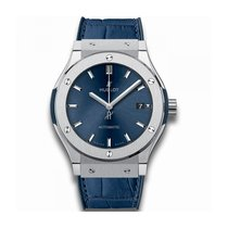 Hublot 542.NX.7170.LR Titanium Classic Fusion Blue 42mm new United States of America, New York, NEW YORK