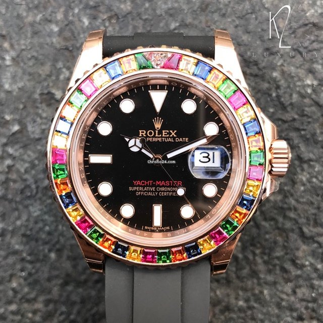 Rolex Yacht Master Ii Tutti Frutti In Rose Gold For 83 000 For Sale From A Trusted Seller