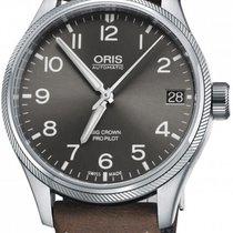 Oris Big Crown ProPilot Date Steel 41mm Grey United States of America, New York, Airmont
