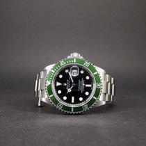 Rolex Submariner Date 16610LV Anniversary Kermit