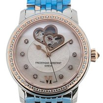 Frederique Constant Ladies Automatic World Heart Federation 34mm Perlemor