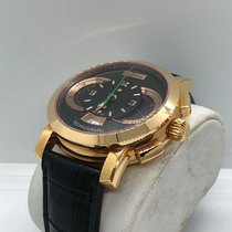Paul Picot Technograph Gelbgold 44mm