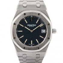 Audemars Piguet Royal Oak Jumbo Stal 39mm Niebieski