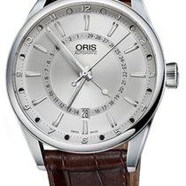 Oris Artix Pointer Steel 42mm Silver Arabic numerals