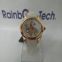 Perrelet Oro rosa Automatico Bianco Senza numeri 38mm nuovo Diamond Flower