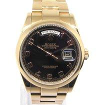 Rolex Day-Date 36 Oro rosa 36mm Negro España, Marbella