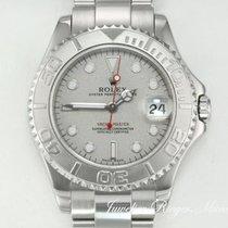 Rolex Yacht-Master Platinum 35mm No numerals