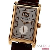 A. Lange & Söhne Red gold Manual winding Silver Roman numerals 25.5mm pre-owned Cabaret