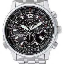 Citizen Promaster Sky AS4020-52E Unworn Steel 44mm Chronograph