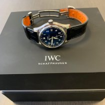 IWC Pilot's Watch Automatic 36 pre-owned 36mm Blue Date Aluminium