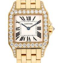 Cartier Santos Demoiselle новые Кварцевые Часы с оригинальными документами и коробкой WF9002Y7
