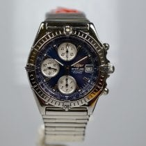 Breitling Blackbird Steel 40mm Blue No numerals