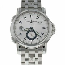 Ulysse Nardin Dual Time Steel 42mm Silver United States of America, Florida, Sarasota