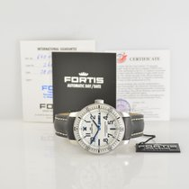 Fortis Steel 44mm Automatic 647.11.42 new