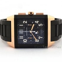 Jaeger-LeCoultre Reverso Squadra World Chronograph Rose gold 36mm Black United States of America, Florida, Aventura