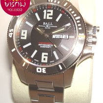 Ball Engineer Hydrocarbon Spacemaster Steel 42mm Black Arabic numerals