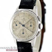 Universal Genève Vintage Compax Chronograph Stainless Steel...
