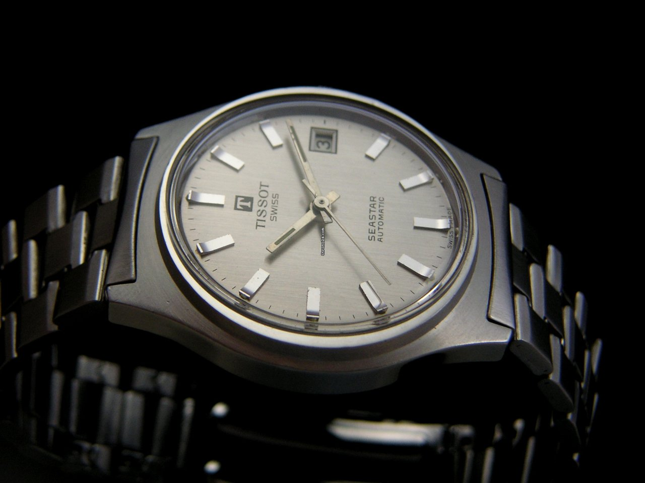 95070a14a Tissot Vintage Seastar All Stainless Steel 70's for Rs. 29,691 for sale ...