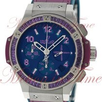 Hublot Big Bang Pop Art Stahl 41mm Blau Arabisch