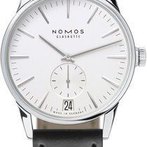 NOMOS Zürich Datum Steel 39.8mm White United States of America, New York, Airmont