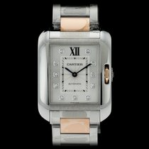 Cartier Tank Anglaise new 39.2mm Gold/Steel