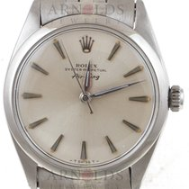 Rolex 1965 Air King Precision Silver Dial With Jubilee Band
