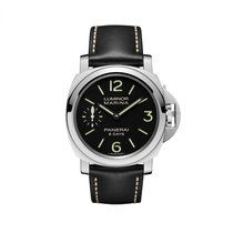 Panerai Luminor Marina 8 Days Acciaio  Mens Watch PAM00510